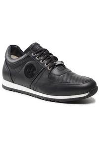 Baldinini - Sneakersy BALDININI - 197080XNAPP000000XXX Nero. Okazja: na co dzień. Kolor: czarny. Materiał: skóra. Styl: elegancki, sportowy, casual