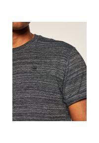 G-Star RAW - T-Shirt G-Star Raw Lash D16396-B140-6484. Kolor: szary
