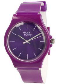 Fioletowy zegarek Knock Nocky
