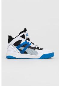 Puma - Buty Backcourt Mid. Nosek buta: okrągły. Zapięcie: sznurówki. Kolor: niebieski. Szerokość cholewki: normalna