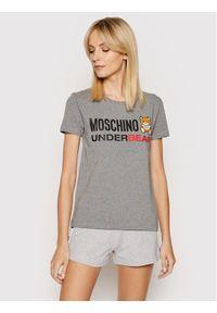 Moschino Underwear & Swim - MOSCHINO Underwear & Swim T-Shirt A1904 9003 Szary Regular Fit. Kolor: szary