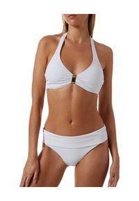 Melissa Odabash - MELISSA ODABASH - Biały top od bikini Provence. Kolor: biały. Materiał: tkanina