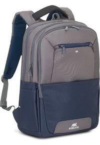 Szary plecak na laptopa RIVACASE