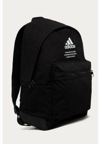 Czarny plecak adidas Performance z nadrukiem