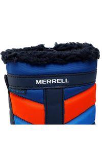 Niebieskie śniegowce Merrell