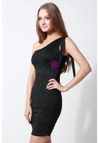 Czarna sukienka Molly elegancka