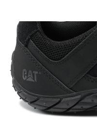 CATerpillar - Sneakersy CATERPILLAR - Profuse P725027 Black. Okazja: na co dzień. Kolor: czarny. Materiał: skóra, zamsz. Szerokość cholewki: normalna. Styl: elegancki, casual