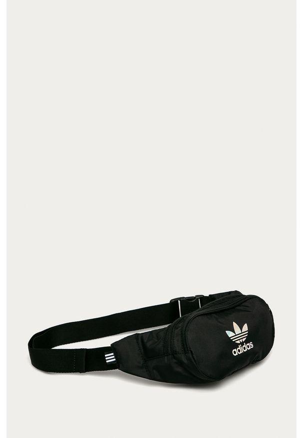 Czarna nerka adidas Originals z nadrukiem