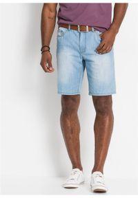 Bermudy dżinsowe z letniego denimu Regular Fit bonprix jasnoniebieski denim. Kolor: niebieski. Sezon: lato