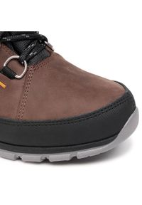 Brązowe buty trekkingowe Nik