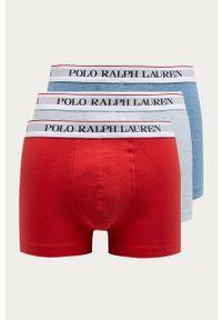Niebieskie majtki Polo Ralph Lauren z nadrukiem