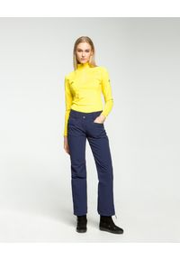 Descente - Spodnie narciarskie DESCENTE SELENE. Stan: obniżony. Materiał: jeans, materiał. Technologia: Thinsulate. Sport: narciarstwo