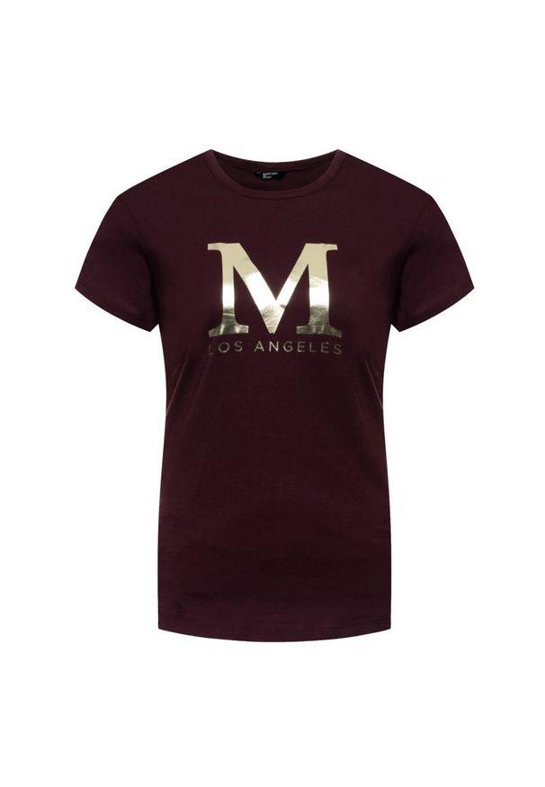 Czerwony t-shirt Marciano Guess