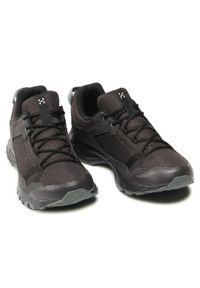 Haglöfs - Trekkingi HAGLÖFS - Trail Fuse Men 498210 Slate/True Black. Kolor: czarny. Materiał: skóra, skóra ekologiczna, materiał. Szerokość cholewki: normalna. Sport: turystyka piesza #3