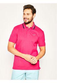 Różowa koszulka polo Tommy Jeans polo