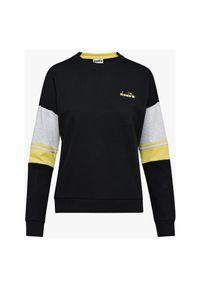 Bluza damska Diadora Crewneck Sweat 175872. Materiał: bawełna, materiał, poliester. Wzór: kolorowy