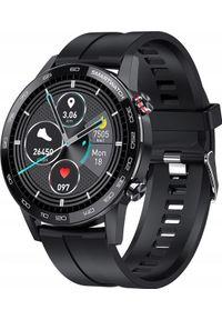 Czarny zegarek ZAXER smartwatch
