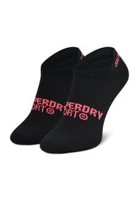 Superdry Zestaw 3 par stopek damskich Coolmax Trainer Sock 3Pk WS400011A Kolorowy. Wzór: kolorowy #2