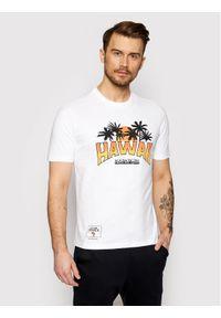 Biały t-shirt Napapijri