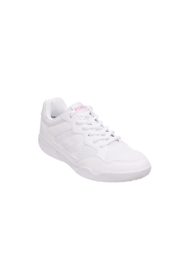 PERFLY - Buty do badmintona BS530 damskie. Kolor: biały. Materiał: mesh, kauczuk. Szerokość cholewki: normalna