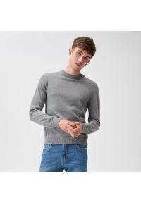 Sinsay - Sweter basic - Jasny szary. Kolor: szary