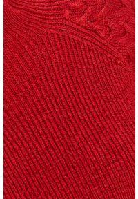 Czerwony sweter Answear Lab raglanowy rękaw, na co dzień, wakacyjny