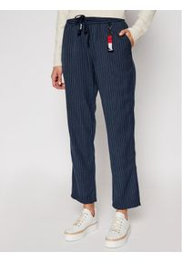 Niebieskie spodnie materiałowe Tommy Jeans