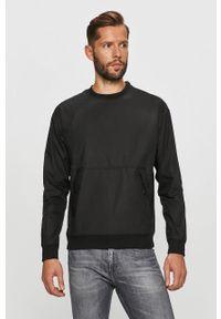 Czarny sweter G-Star RAW casualowy, na co dzień, długi