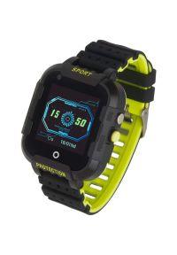 Czarny zegarek GARETT smartwatch, klasyczny