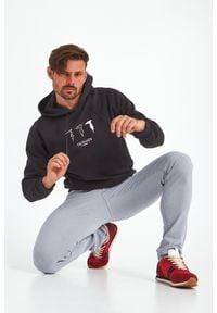 Trussardi Jeans - BLUZA TRUSSARDI. Okazja: na co dzień. Typ kołnierza: kaptur. Wzór: nadruk. Styl: casual #1