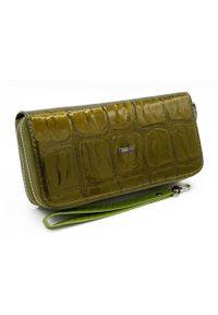 4U CAVALDI - Portfel damski zielony Cavaldi #YX-04-10 GREEN. Kolor: zielony. Materiał: skóra ekologiczna