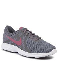 Szare buty do biegania Nike Nike Revolution, z cholewką