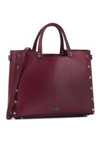 Fioletowa torebka klasyczna QUAZI klasyczna