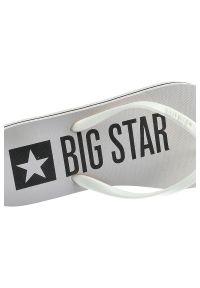 Big-Star - Japonki BIG STAR FF274A320 Biały. Okazja: na co dzień, na plażę. Kolor: biały. Materiał: jeans. Sezon: lato. Styl: wakacyjny, elegancki, casual