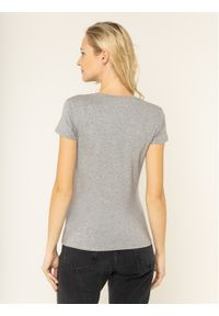 Guess T-Shirt Crystal W01I74 J1300 Szary Regular Fit. Kolor: szary