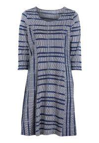 Niebieska sukienka mini Cellbes elegancka