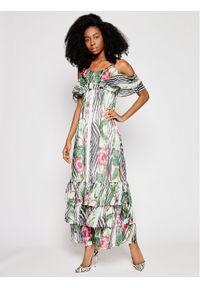 Guess Sukienka letnia Agathe W1GK1F WDW52 Kolorowy Regular Fit. Wzór: kolorowy. Sezon: lato