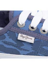 Niebieskie trampki Pepe Jeans