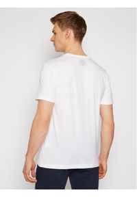 Colmar T-Shirt Frida 7583 6SH Biały Regular Fit. Kolor: biały