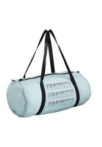 DOMYOS - Torba fitness cardio składana 15 l. Kolor: zielony. Materiał: poliester, materiał. Sport: fitness