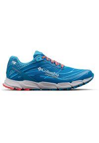 Niebieskie buty do biegania columbia