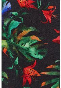 medicine - Medicine - Spódnica Tropical Chaos. Kolor: czarny. Materiał: tkanina