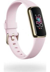 FITBIT - Smartwatch Fitbit Luxe Różowe złoto. Rodzaj zegarka: smartwatch. Kolor: złoty, różowy, wielokolorowy