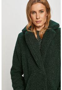 Zielony płaszcz Noisy may na co dzień, bez kaptura