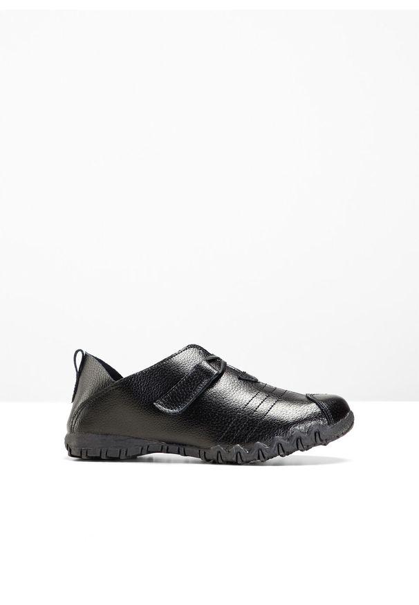 Czarne buty sportowe bonprix bez zapięcia