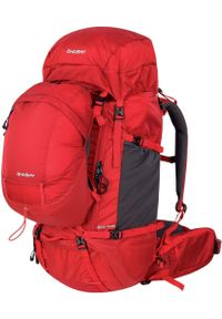 Czerwony plecak Husky