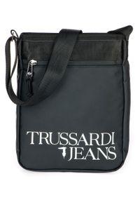 Torba Trussardi Jeans z aplikacjami