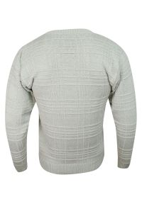 Sweter Kings z dekoltem w serek, na zimę, elegancki