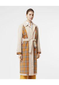 Brązowy płaszcz Burberry vintage