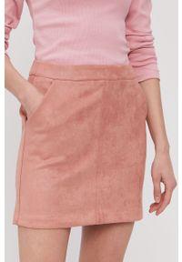 Spódnica Vero Moda gładkie, casualowa